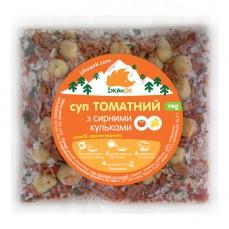 Суп томатний з сирними кульками Їжачок